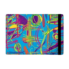 Colorful Abstract Pattern Apple Ipad Mini Flip Case by Valentinaart