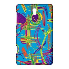 Colorful Abstract Pattern Samsung Galaxy Tab S (8 4 ) Hardshell Case  by Valentinaart