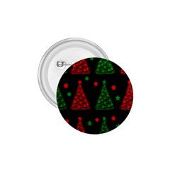 Decorative Christmas Trees Pattern 1 75  Buttons by Valentinaart
