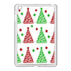 Decorative Christmas Trees Pattern   White Apple Ipad Mini Case (white) by Valentinaart