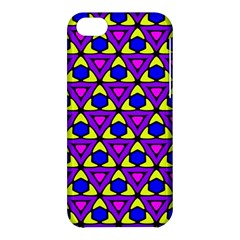 Triangles And Honeycombs Pattern                                                                                                  			apple Iphone 5c Hardshell Case by LalyLauraFLM