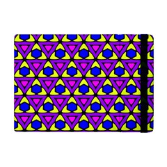 Triangles And Honeycombs Pattern                                                                                                  			apple Ipad Mini 2 Flip Case by LalyLauraFLM