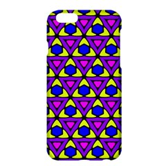 Triangles And Honeycombs Pattern                                                                                                  			apple Iphone 6 Plus/6s Plus Hardshell Case by LalyLauraFLM