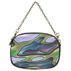 3d Shapes                                                                                                      	chain Purse (two Sides) by LalyLauraFLM