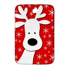 Christmas Reindeer   Red Samsung Galaxy Note 8 0 N5100 Hardshell Case  by Valentinaart