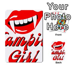 Vampire Girl Multi Purpose Cards (rectangle)  by igorsin