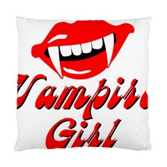 Vampire Girl Standard Cushion Case (two Sides) by igorsin