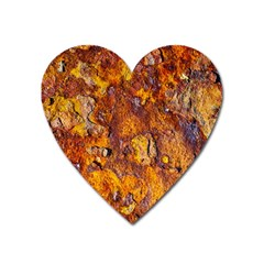 Rusted Metal Surface Heart Magnet by igorsin