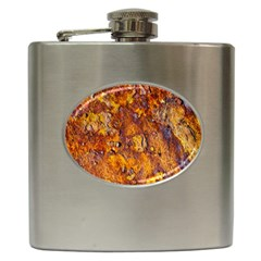 Rusted Metal Surface Hip Flask (6 Oz) by igorsin
