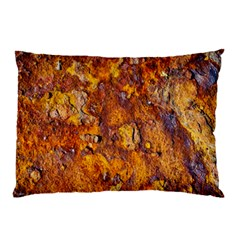 Rusted Metal Surface Pillow Case (two Sides) by igorsin