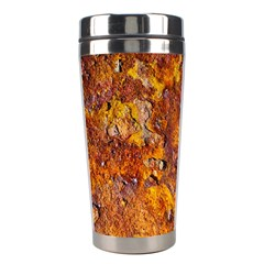 Rusted Metal Surface Stainless Steel Travel Tumblers by igorsin