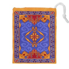 Magic Carpet Drawstring Pouch (xxl) by Ellador