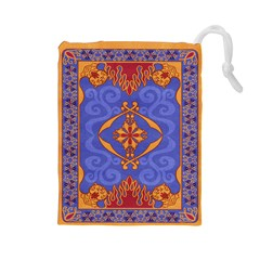 Magic Carpet Drawstring Pouch (large)