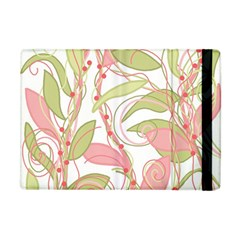 Pink And Ocher Ivy 2 Apple Ipad Mini Flip Case by Valentinaart