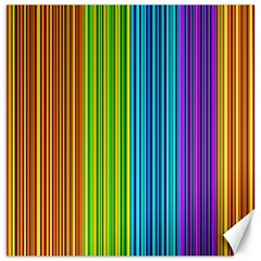 Colorful Lines Canvas 20  X 20   by Valentinaart