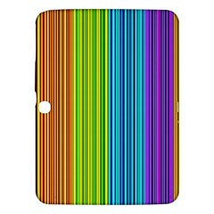 Colorful Lines Samsung Galaxy Tab 3 (10 1 ) P5200 Hardshell Case  by Valentinaart