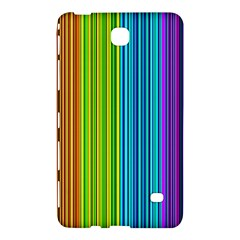Colorful Lines Samsung Galaxy Tab 4 (7 ) Hardshell Case  by Valentinaart