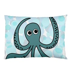 Octopus Pillow Case by Valentinaart