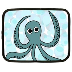 Octopus Netbook Case (xxl)  by Valentinaart