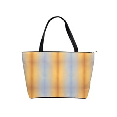 Blue Yellow Summer Pattern Shoulder Handbags by Costasonlineshop