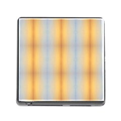 Blue Yellow Summer Pattern Memory Card Reader (square) by Costasonlineshop