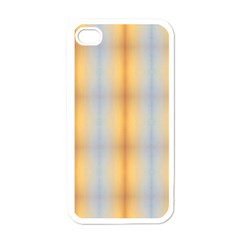 Blue Yellow Summer Pattern Apple Iphone 4 Case (white) by Costasonlineshop