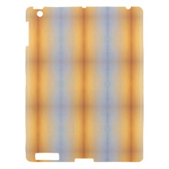 Blue Yellow Summer Pattern Apple Ipad 3/4 Hardshell Case by Costasonlineshop