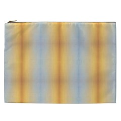 Blue Yellow Summer Pattern Cosmetic Bag (xxl)  by Costasonlineshop