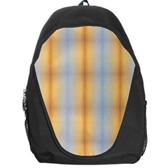 Blue Yellow Summer Pattern Backpack Bag by Costasonlineshop