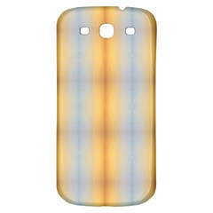 Blue Yellow Summer Pattern Samsung Galaxy S3 S Iii Classic Hardshell Back Case by Costasonlineshop