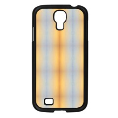Blue Yellow Summer Pattern Samsung Galaxy S4 I9500/ I9505 Case (black) by Costasonlineshop