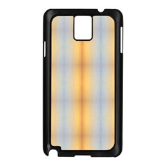 Blue Yellow Summer Pattern Samsung Galaxy Note 3 N9005 Case (black) by Costasonlineshop
