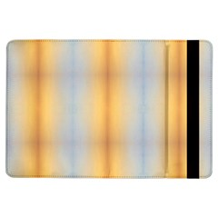 Blue Yellow Summer Pattern Ipad Air Flip by Costasonlineshop