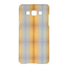 Blue Yellow Summer Pattern Samsung Galaxy A5 Hardshell Case  by Costasonlineshop