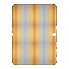 Blue Yellow Summer Pattern Samsung Galaxy Tab 4 (10 1 ) Hardshell Case  by Costasonlineshop