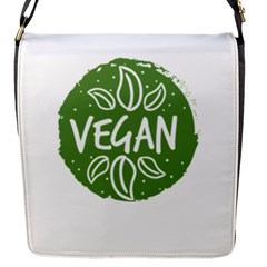 Vegan Label3 Scuro Flap Messenger Bag (s) by CitronellaDesign