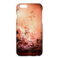 Wonderful Flowers In Soft Colors With Bubbles Apple Iphone 6 Plus/6s Plus Hardshell Case by FantasyWorld7