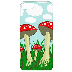 Mushrooms  Apple Iphone 5 Classic Hardshell Case by Valentinaart