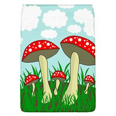 Mushrooms  Flap Covers (l)  by Valentinaart