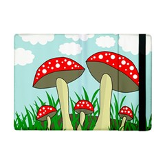 Mushrooms  Ipad Mini 2 Flip Cases by Valentinaart