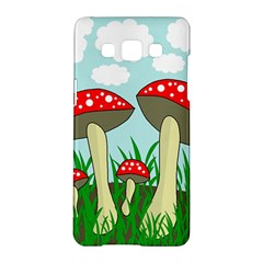 Mushrooms  Samsung Galaxy A5 Hardshell Case  by Valentinaart