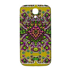 Fantasy Flower Peacock With Some Soul In Popart Samsung Galaxy S4 I9500/i9505  Hardshell Back Case by pepitasart