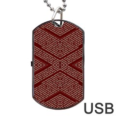 Gggfgdfgn Dog Tag Usb Flash (one Side) by MRTACPANS