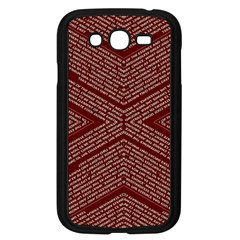 Gggfgdfgn Samsung Galaxy Grand Duos I9082 Case (black) by MRTACPANS