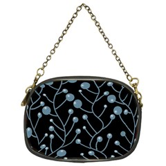 Blue Decor Chain Purses (one Side)  by Valentinaart