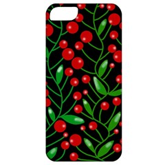 Red Christmas Berries Apple Iphone 5 Classic Hardshell Case by Valentinaart
