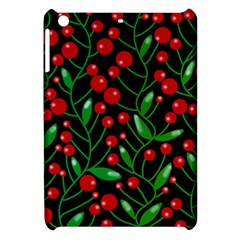 Red Christmas Berries Apple Ipad Mini Hardshell Case by Valentinaart