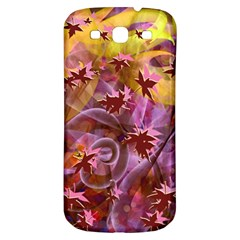 Falling Autumn Leaves Samsung Galaxy S3 S Iii Classic Hardshell Back Case by Contest2489503