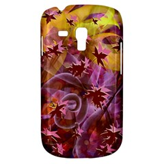 Falling Autumn Leaves Samsung Galaxy S3 Mini I8190 Hardshell Case by Contest2489503