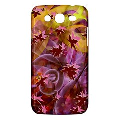 Falling Autumn Leaves Samsung Galaxy Mega 5 8 I9152 Hardshell Case  by Contest2489503